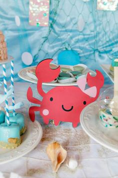 first birthday bubble guppies party ideas | Bubble Guppies Under The Sea Party with Lots of Cute Ideas via Kara's ...