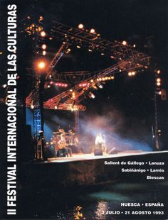 Cartel Pirineos Sur 1993 (edicion II)