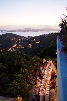 St. John destination wedding reception venue - WOW! {Lindsay Vann Photography}