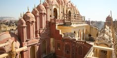 The trip also stops in Jaipur, where you can see the Palace of the Winds. #Jetsetter