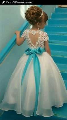Gorgeous Dresses of Flower Girl will help to create your wedding day distinctive and memorable. So if you do not have any idea, look at this gallery of best flower girl lace dresses ideas that we have provided special for you. Cute Flower Girl Dresses, Lace Flower Girls, Little Girl Dresses, Girls Dresses, Flower Girl Gown, Princess Flower, Baby Dress, The Dress, Dress Lace