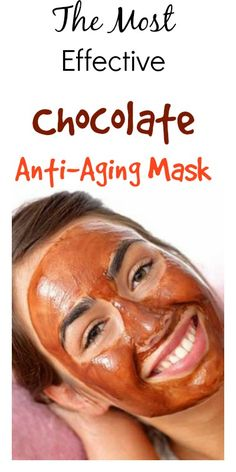 The Most Effective Chocolate Anti-Aging Mask