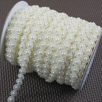 10mm Ivory ABS pearl flower String / Garland for XMAS wedding decor / DIY accessories  25Meter / roll  -Free shipping Diy Wedding Decorations, Flower Decorations, Pearl Garland, Party Suppliers, Flower Garlands, Pearl Flower, Diy Accessories, Fun Crafts, Xmas