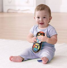 VTech TV Remote Toy Colorful Play Pretend Children Baby Infant Learning Toys New…