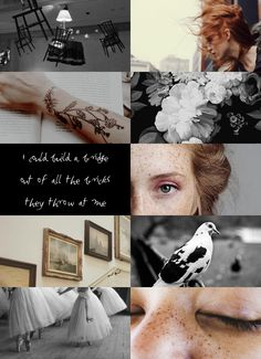 Emma's (or Olive's) Board 3 < I love this aesthetic. Based on the book it would be Emma not Olive.