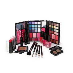 Oh my goodness! #beauty #makeup This set has everything!! #BigLots  Color Addiction 53-Piece Makeup Collection at Big Lots.