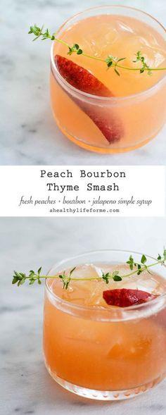 Peach Bourbon Thyme
