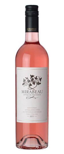 We love this wine! 2011 Mirabeau Côtes de Provence Rosé - Some great reveiws on our Rosé by K & L Wines