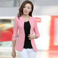 2014 spring and autumn female  outerwear slim female short  design  wholesale women blazers blaser Didiar Young fashion Lady $30.14
