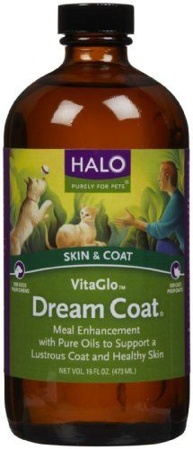 Halo Purely For Pets VitaGlo Dream Coat  16 fl oz * Details can be found by clicking on the affiliate link Amazon.com.