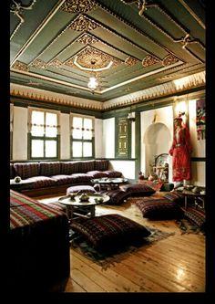 Old wood haus.Turkey