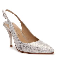 "Donald J Pliner ""BRIGHT"" #Pump in Metallic Snake"