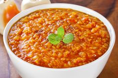 This combination of red #lentils and spicy red #curry is just delicious and incredibly simple to prepare.