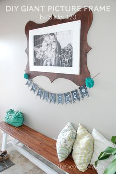DIY Jumbo Picture Frame