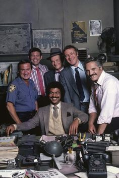 """Barney Miller,"" an ABC comedy about a NYC police captain, played by Hal Linden, and his staff of detectives debuted in January 1975."