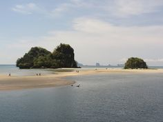 Chicken Island - where you can walk from one Isalnd to another when there is low tide :) Ao Nang - Thailand