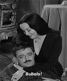 Morticia and Gomez Addams I love them ant love like them!