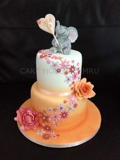 60th Birthday Cake - #Elephant