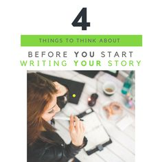 Thinking about writing your life story? Guarantee success by thinking about these 4 things before you start! Start Writing, Your Story, Memoirs, Things To Think About, Success, Life