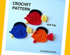 Crochet à Tricoter Stitch Marker Poisson Charme Lobster clip Handmade Poisson rouge Pet