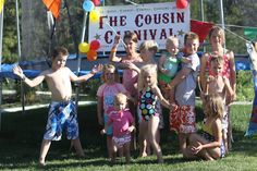 carnival themed party -- they used it for a cousin reunion, but it could make a really fun birthday party too