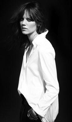 Freja Beha Erichsen for Ninesix NY 96 Fall Winter 2012