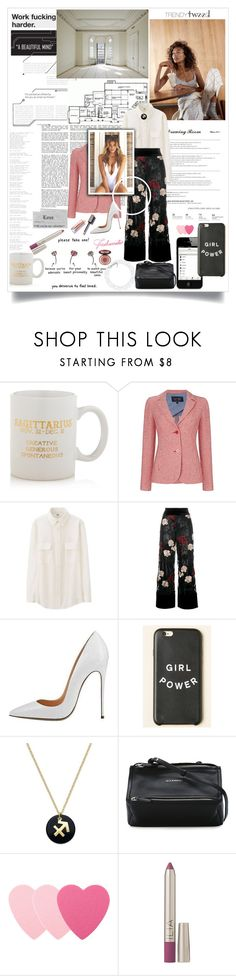"""""""ck/ the interview"""" by lseed87 ❤ liked on Polyvore featuring Madewell, Sparrow & Wren, Home Source International, Armani Jeans, Uniqlo, Ganni, Giani Bernini, Givenchy, Sephora Collection and Charlotte Tilbury"""