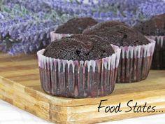 Μάφινς σοκολάτας (νηστίσιμα) - Food States Vegan Menu, Chocolate Muffins, Food And Drink, Cooking Recipes, Cupcakes, Treats, Breakfast, Desserts, Blog