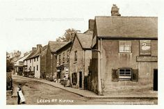 Leeds Road Kippax Leeds 1901 Old Pictures, Old Photos, Leeds Road, My Town, Far Away, Vintage Photography, Good Old, Yorkshire, Past