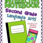BRAND NEW AND 50% off the first 48 hours! This CCSS aligned Second Grade Interactive Notebook for Language Arts focuses on writing and the building...