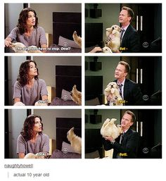 HIMYM- Barney and Robin