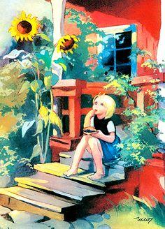 Art For Art Sake, Children's Book Illustration, Christmas Art, Art Pictures, Martini, Illustrators, Art For Kids, Book Art, Fairy Tales