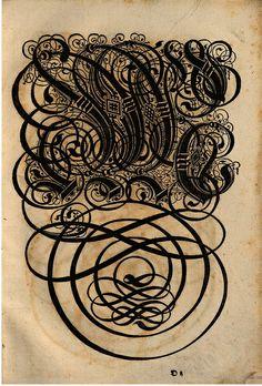 Paulus Franck - 'Schatzkammer Allerhand Versalien Lateinisch vnnd Teutsch', 1601 alphabet n by peacay, via Flickr