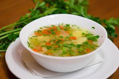 Просто и вкусно: Суп из кабачков