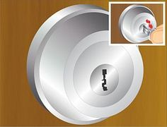 Fix a Sticky Lock with Powdered Graphite - works like a charm, sold at Home Depot in the keys department.