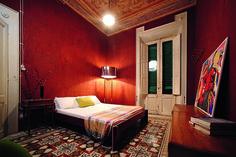 Italian house, eclectic, vibrant, Stefano Trapani Italian Home, Bed, Interior, Decorating Ideas, Vibrant, House, Furniture, Design, Home Decor