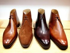 Crockett  Jones chukka collection