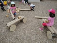 the endless possibilities of loose parts in reggio inspired preschool – Natural Playground İdeas Reggio Inspired Classrooms, Reggio Classroom, Outdoor Classroom, Preschool Classroom, Kindergarten Art, Montessori, Play Based Learning, Early Learning, Preschool Playground