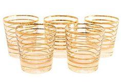 Vintage gold rimmed glasses