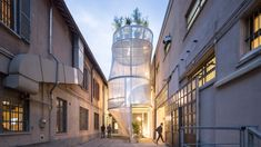 SO-IL imagines a future of sustainable city living with smog-filtering MINI Living house