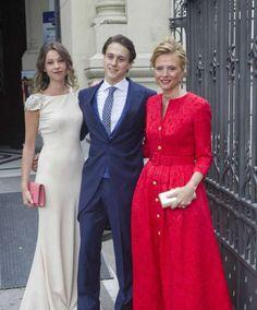 Maria José, Alejandro Yuste y Ana Yuste