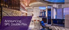 SPG Double Play - Earn Double Starpoints + up to 5,000 Bonus Starpoints on eligible stays Worldwide