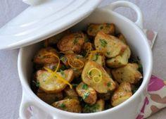 Pommes de terre primeur à la gremolata