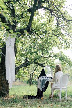 СЪЕМКА ПОБЕДИТЕЛЕЙ КОНКУРСА ОТ ПОРТАЛА MARRY.UA Wedding photo, bridal morning and preparings. Bride getting ready, nature fine art ideas.