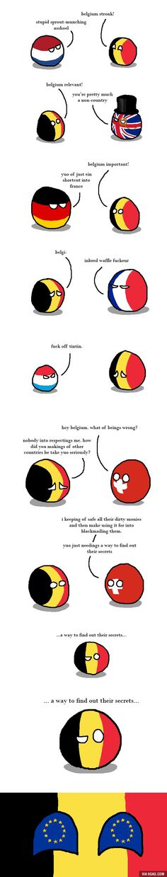 Belgium wants respect