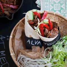 Fajitas, Wok, Tacos, Food And Drink, Mexican, Beef, Ethnic Recipes, Meat, Woks