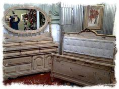 Bed a dresser