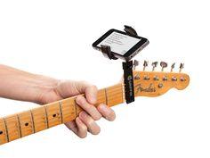 iPhone guitar mount | Guitar Sidekick