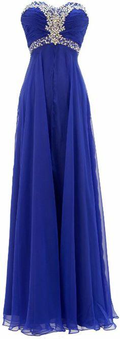 Chiffon Sweetheart Strapless Pageant Homecoming Dress