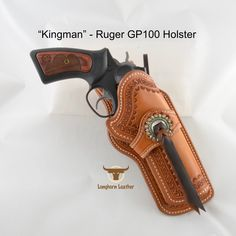 Longhorn Leather AZ - Ruger holster featuring the design. 1911 Holster, Custom Leather Holsters, Gun Holster, Cowboy Hat Styles, Blackhawk Holsters, Western Holsters, Rifle Sling, Desi, Leather Workshop